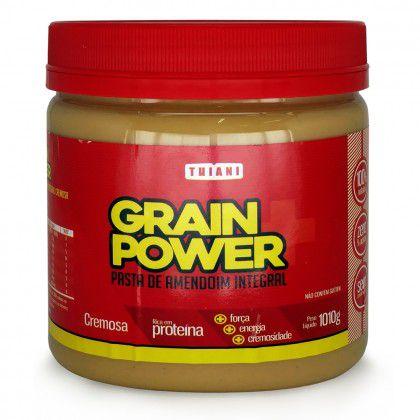 Pasta De Amendoim (1010g) - Grain Power