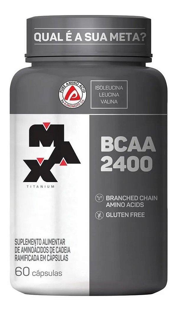 BCAA 2400 (60 CAPS)- Max Titanium