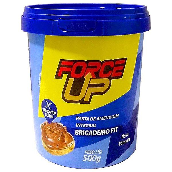 Pasta de Amendoim Brigadeiro Fit (500g) - Force Up
