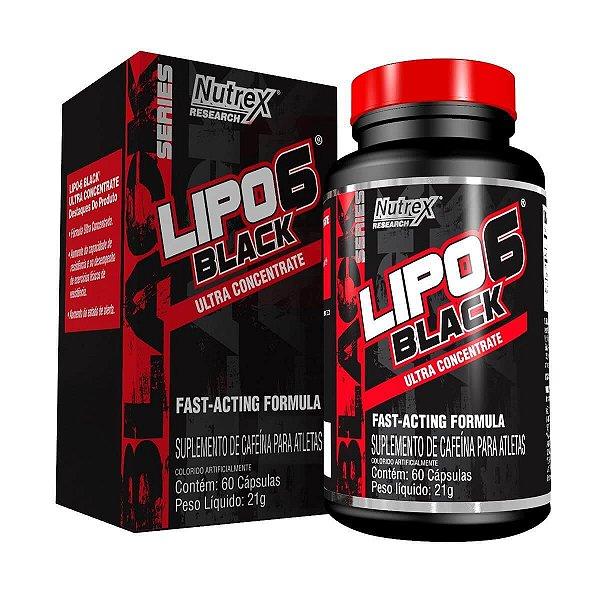 Lipo 6 Black Ultra Concentrado (60caps) - Nutrex
