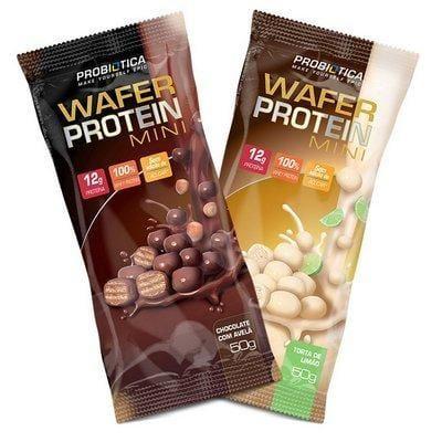 Wafer Protein Mini (Cx 12 unidades de 50g) - Probiótica