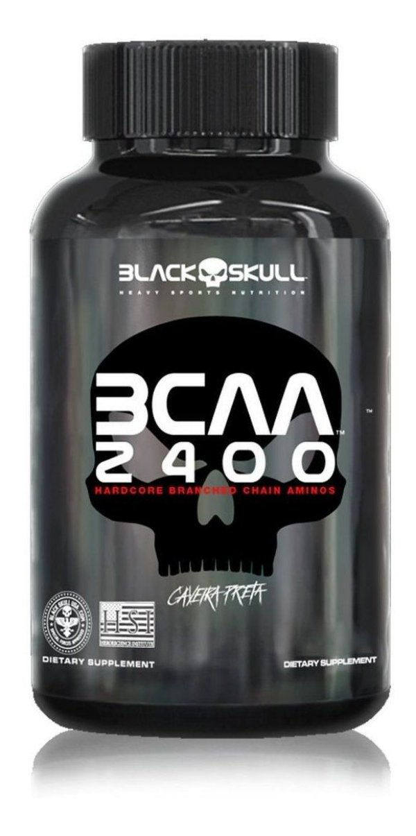 Bcaa 2400 (30Tabs) - Black Skull