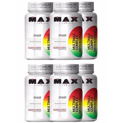 6x Multimax Complex (90 caps.)- MAX TITANIUM