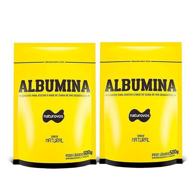 2x ALBUMINA (500g) - NATUROVOS