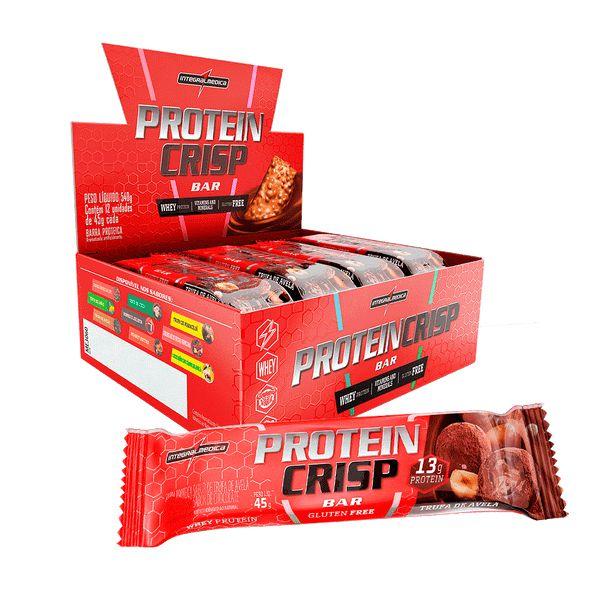 Protein Crisp ( Display com 12 Barras ) - Integralmedica