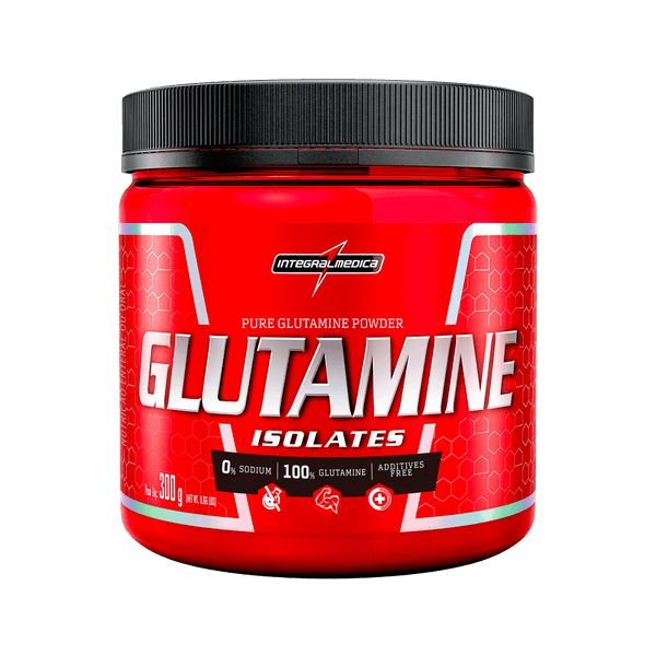 Glutamine Isolates (300G) - Integralmédica