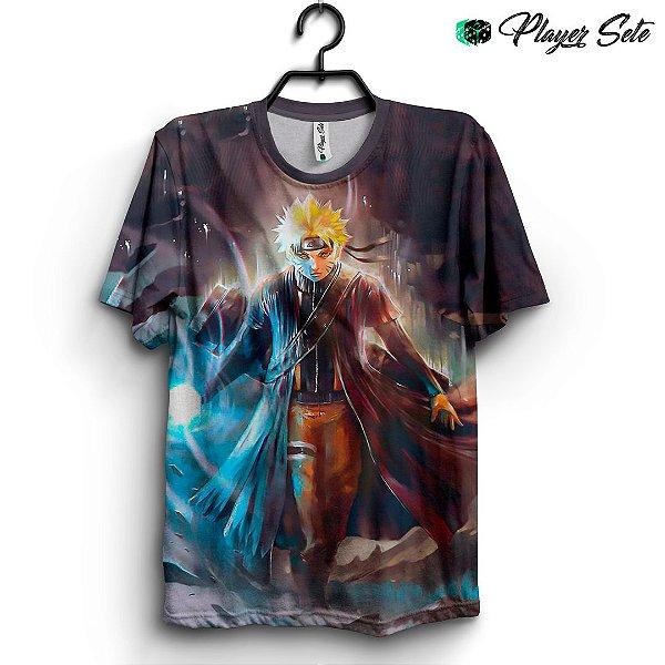 Camiseta 3d Full Anime Naruto