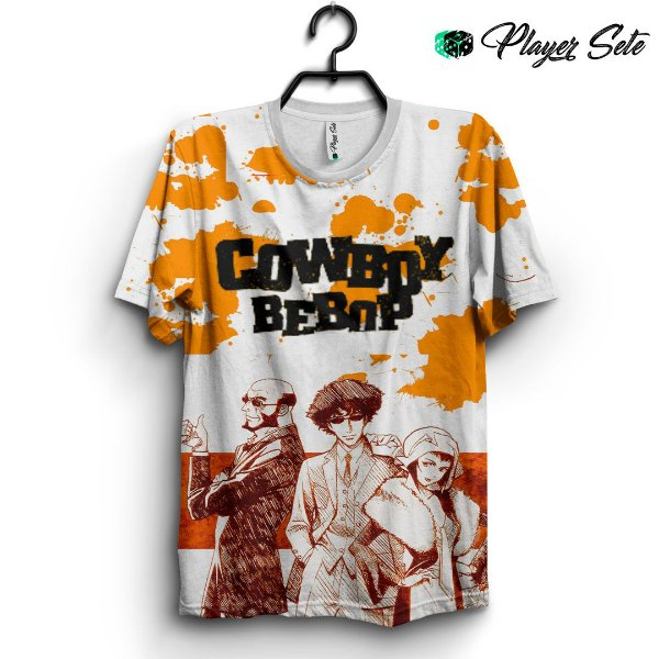Camiseta 3d Full Anime Cowboy Bebop