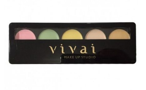 Paleta de corretivo glamour- Vivai