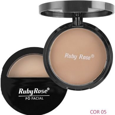 Pó compacto Ruby Rose hb 7200-c0r 05