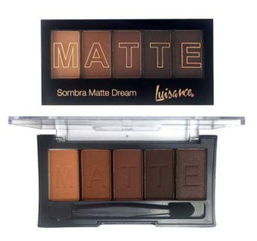 Paleta 5 sombras Matte dream luisance -l6011c