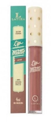 Batom lip matte Latika -cor 30