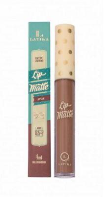 Batom lip matte Latika -cor 36