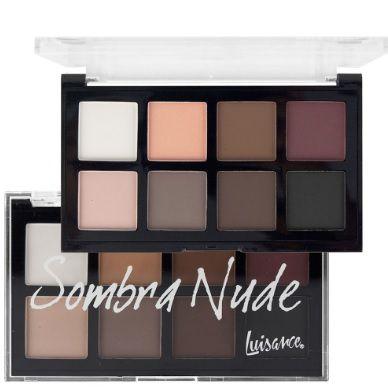 Paleta de sombra nude 8 cores - l6016 b