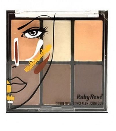 Corretivo concealer contour- Ruby Rose fair