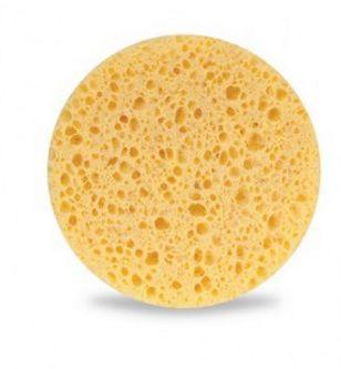 Esponja esfoliante para limpeza de pele. 2 unid