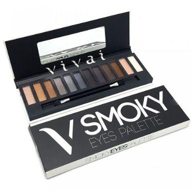 Paleta de sombras smoky eyes palette Vivai