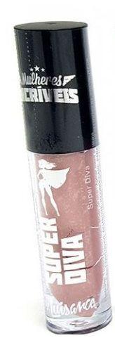 Batom líquido matte Super Diva Mulheres Incríveis-Luisance  lm3028 -cor 01
