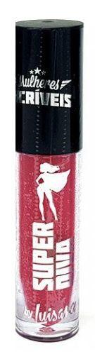 Batom líquido matte Super Diva Mulheres Incríveis-Luisance  lm3028 -cor 04