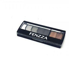 Paleta  Fenzza de sombra matte 07 cores - s024  cinza