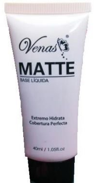 Base Liquida Matte Venas cor 3