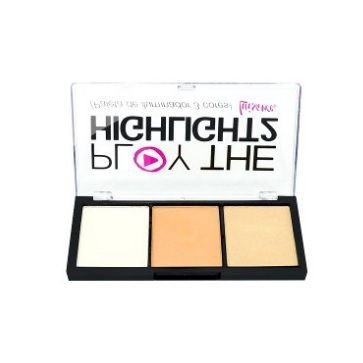 Paleta de iluminador Play the highlight cor b