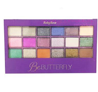 Paleta de sombra be butterfly Ruby Rose- hb 9922