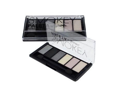 Paleta com 6 sombras smokey Luisance - l682 a