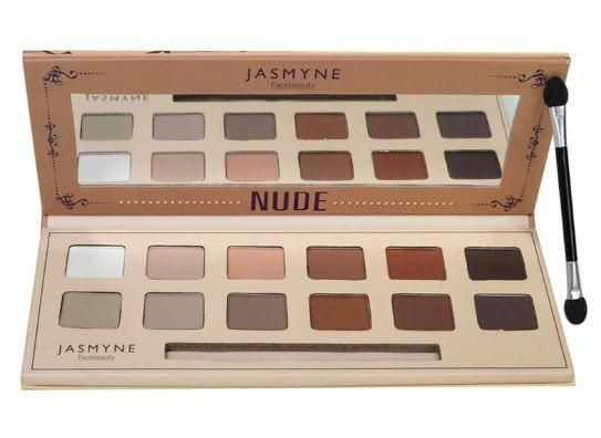 Paleta de Sombras Nude Jasmyne V6018 Cor -A