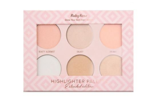 Iluminador Paleta Highlighter Palette by Ruby Rose (cod. HB7501)