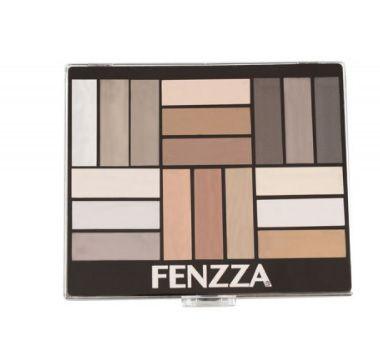 Paleta de Sombras Clarity Fenzza- 18 cores- Ps077