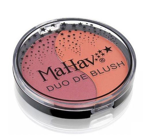 Duo de Blush Mahav-Ameixa e pêssego