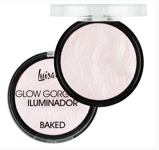 Glow Gorgeous Iluminador Baked Luisance L3032 Cor A