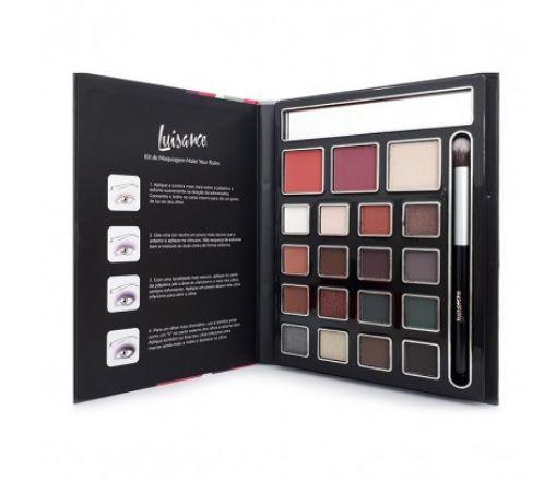 Kit de Maquiagem Make Your Rules Luisance L971 - Cor B