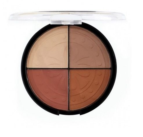 Blush Iluminador Strobing Moon 4 Cores - Fenzza Make Up FZ - BS10MO-DS Cor C1