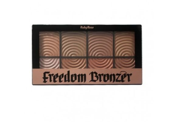 Paleta Bronzer Freedom HB-7216 Ruby Rose