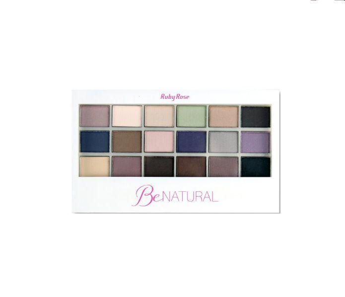 Paleta de sombra Be Natural Ruby Rose- HB 9930