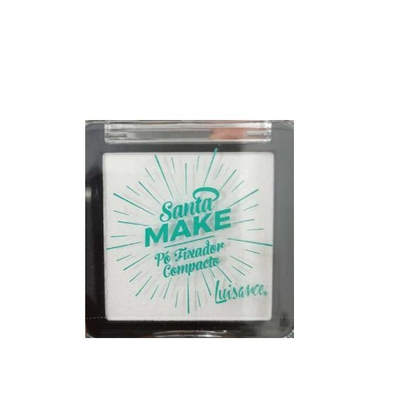 Pó Fixador Compacto Santa Make Luisance -L9006