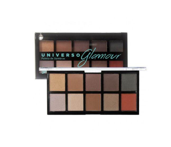 Paleta de Sombras Universo Glamour L1035 Luisance Cor B