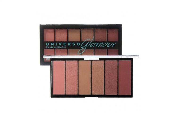 Paleta de Blushes Universo Glamour L1033 Luisance