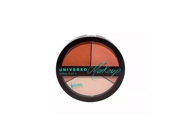 Paleta Universo Makeup 3 em 1 Luisance- L1050 B