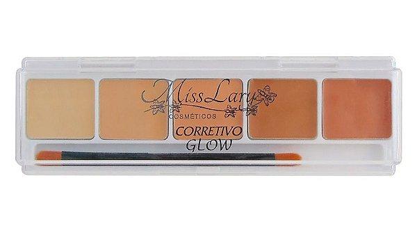 Paleta de Corretivo  Glow Miss Lary