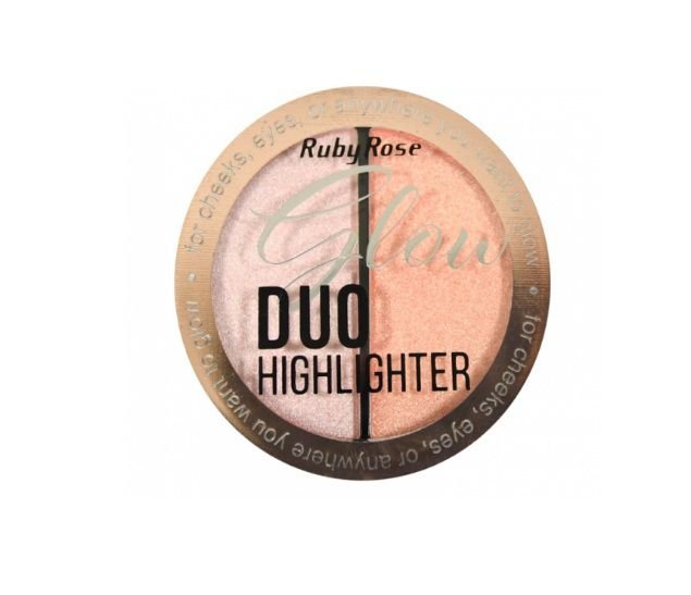 Iluminador Glow Duo Highlighter Ruby Rose HB75223 Cor-3