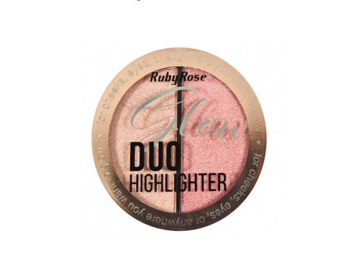 Iluminador Glow Duo Highlighter Ruby Rose HB75224 Cor-4