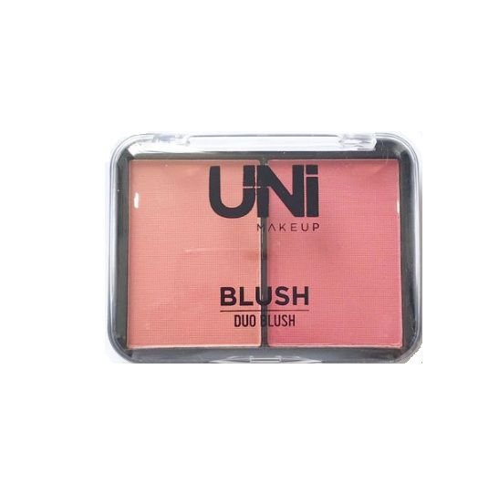 Duo Blush- Uni Makeup- Cor 1