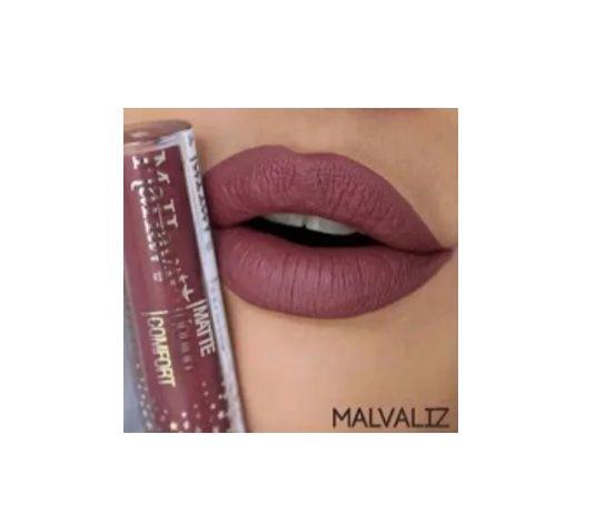 Batom Liquido Matte Confort -Mahav Cor Malvaliz