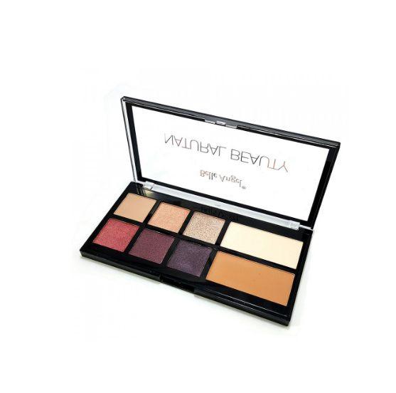 Paleta de Sombras Contorno e Pó Natural Beauty - Belle Angel- T012