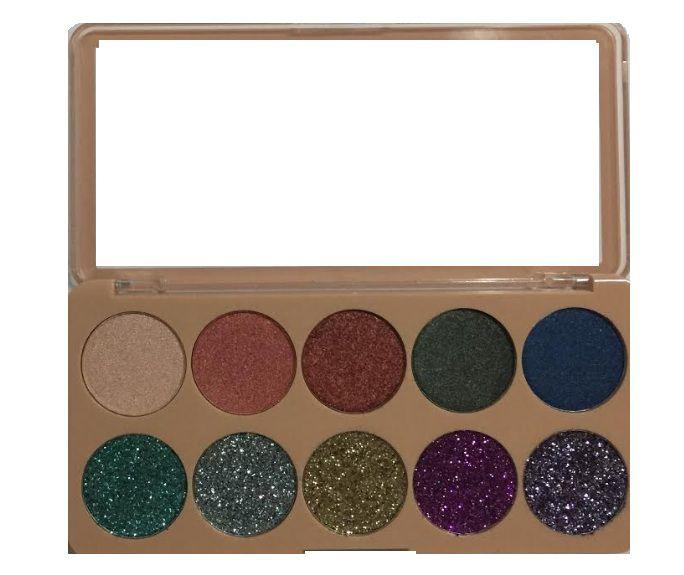Paleta Glitter Luisance - L2018- B