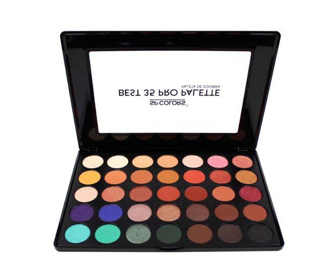 Paleta de Sombra Best 35 Pro Palette 1- Spcolors