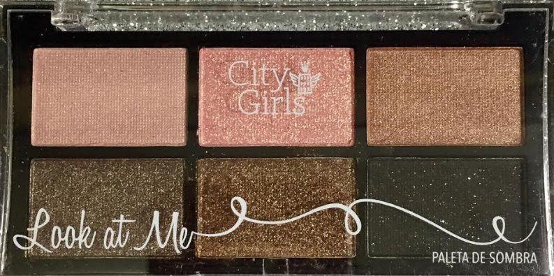Paleta de Sombra Look At Me - City Girl cor 01